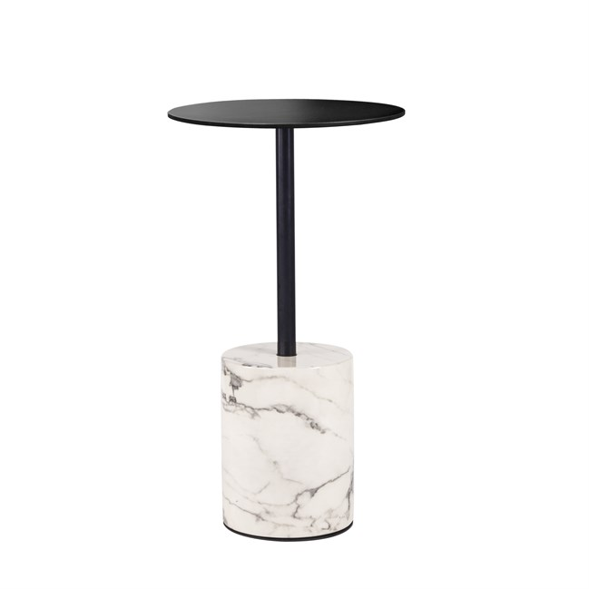 White Marble Bar Table