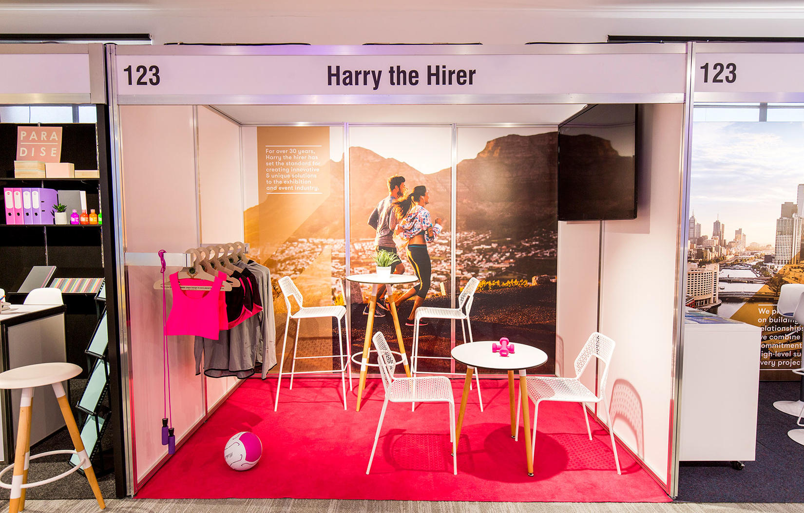 Furniture Hire Amp Rentals For Exhibitors Harry The Hirer