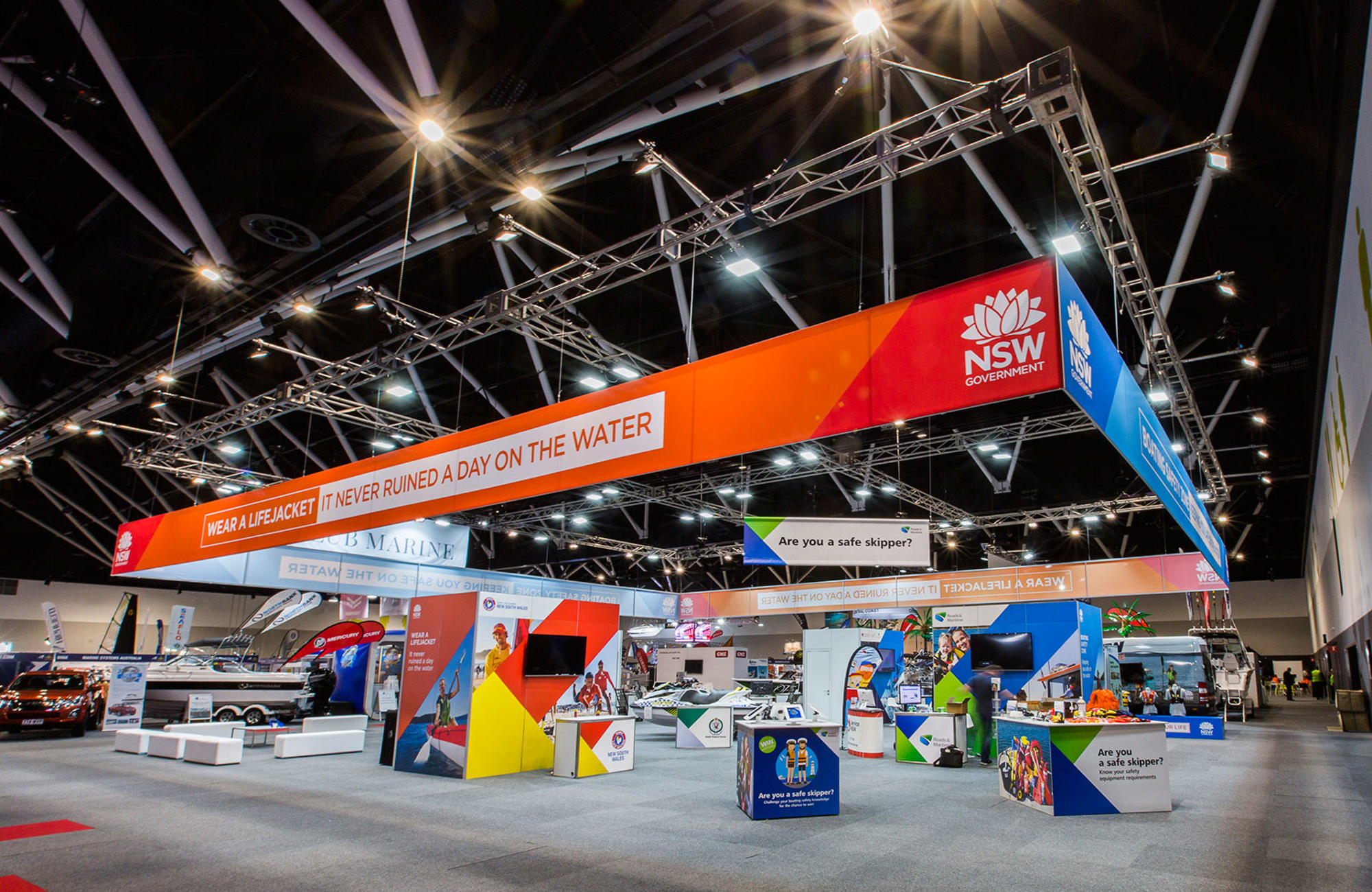 Exhibition Stand Hire Brisbane : Hire rental services for exhibitions harry the hirer