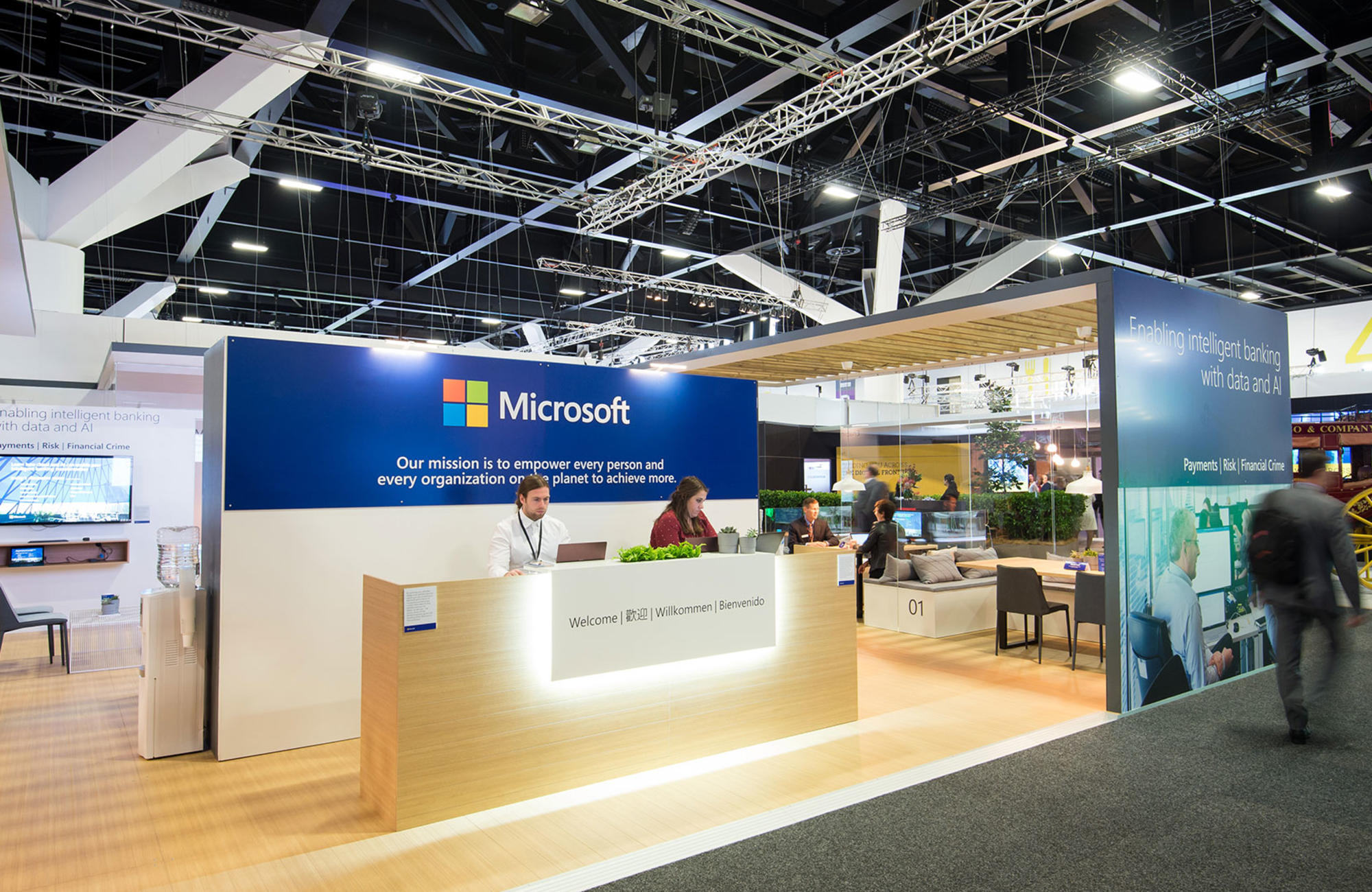 Modular Exhibition Stands Election : Custom exhibition stand design & builds harry the hirer