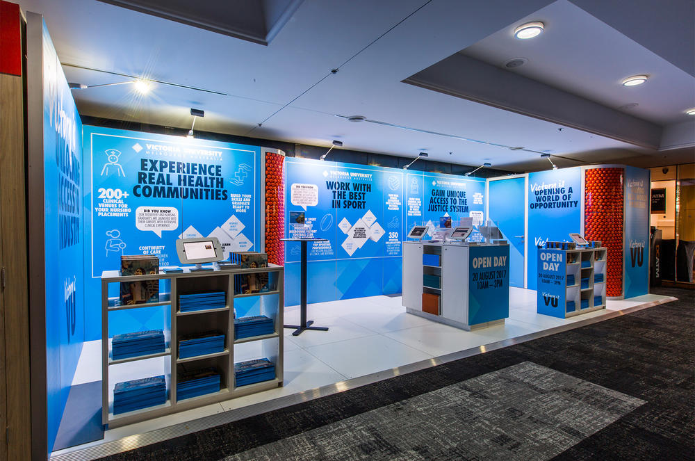 Custom Exhibition Stands Australia : Custom exhibition stands harry the hirer